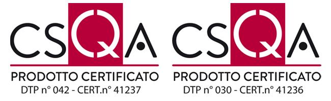 Certificazioni Tecnozoo CSQA prodotti certificati