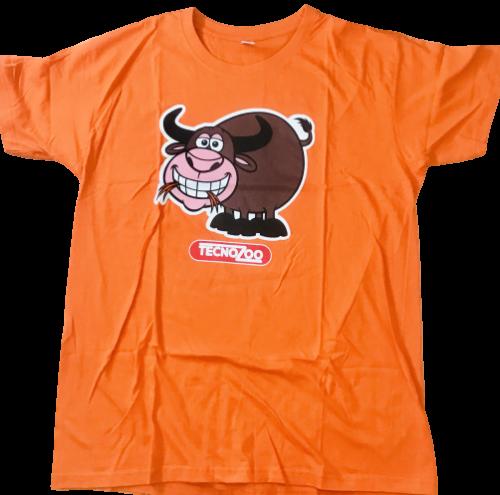 T Shirt Arancione Bufala